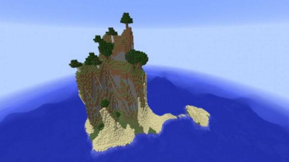Best Minecraft seeds leg break island