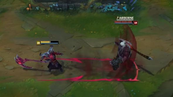 The next League of Legends champion is two in one body