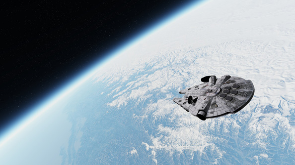 Modern Warfare 2 Hd Wallpaper You Can Fly A Millennium Falcon In Outerra The Powerful