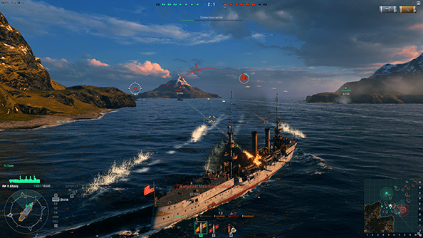 Hands on with World of Warships  PCGamesN