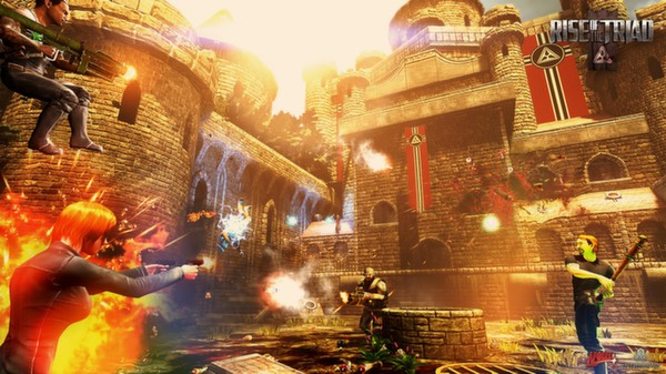 Rise of The Triad Gameplay