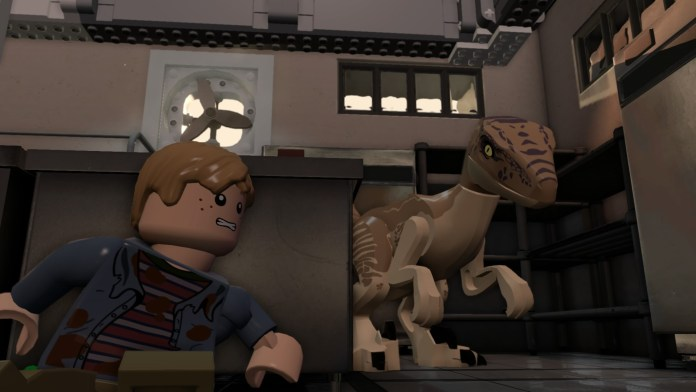 lego jurassic world Walkthrough