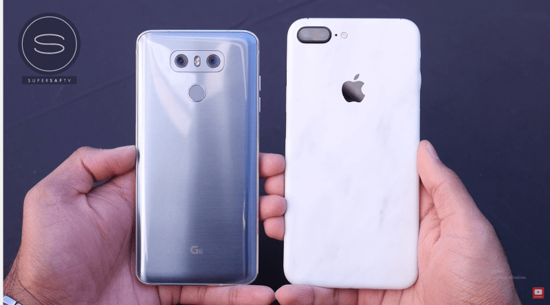 LG G6 vs iPhone 7 plus