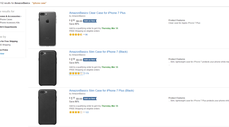 amazon basic iphone cases