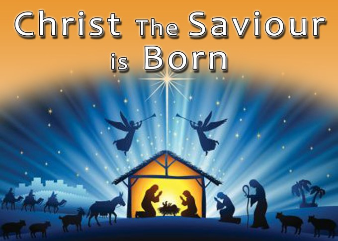 Image result for christ the saviour is born