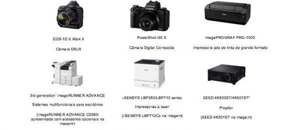 Seis produtos Canon reconhecidos com iF Design Awards