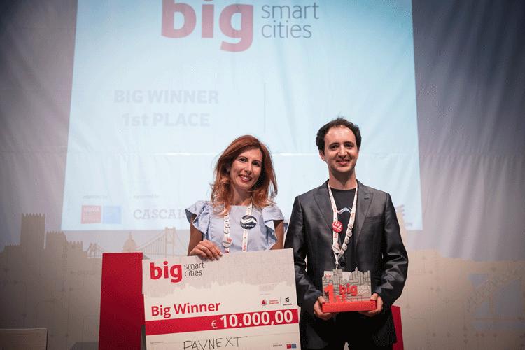 Projecto Pavnext vence quinta edição do Big Smart Cities