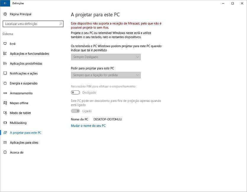 Faça partilhas entre vários PC, sem fios - ecrã