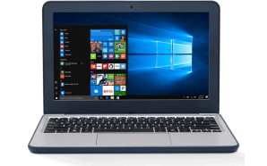 Asus VivoBook W202 utiliza o Windows 10 S