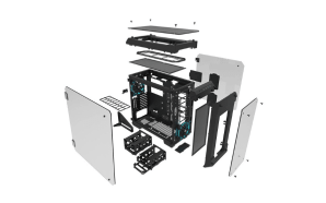 Thermaltake apresenta a caixa View 71 Tempered Glass Edition