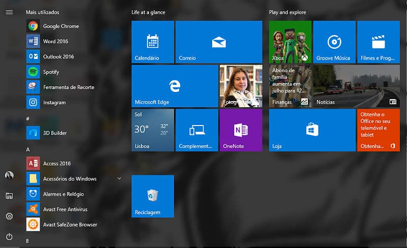 Oferta Office 365 - Windows 10