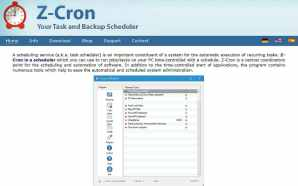 Zcron programa