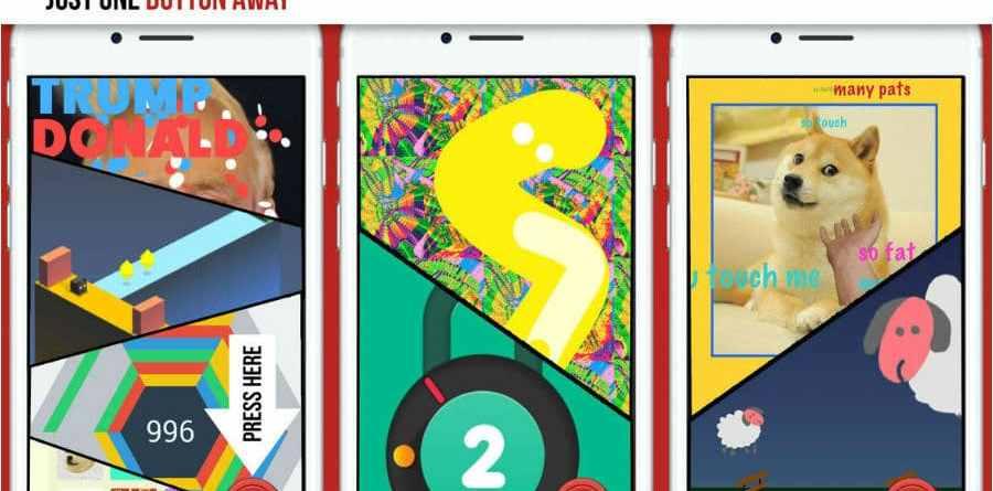 Bored Button app