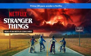 Netflix disponível na MEObox