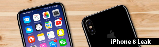 i phone x leak