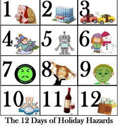 12 days xmas hazards  [ 1088 x 1256 Pixel ]