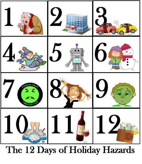 small resolution of  12 days xmas hazards