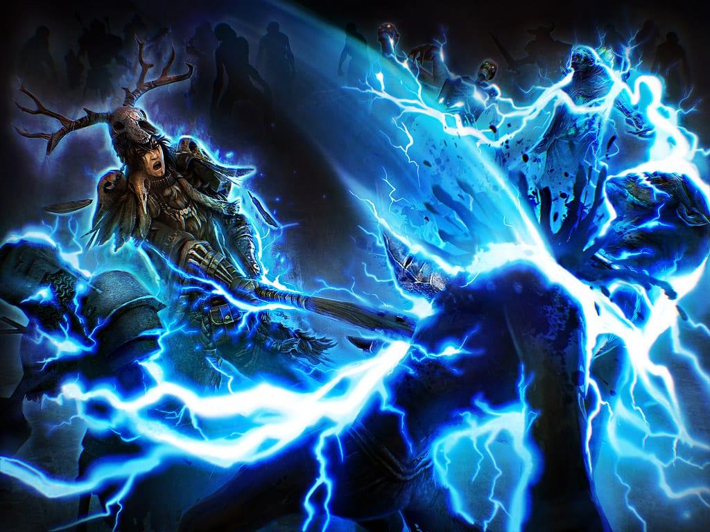 Badass Mage Girl Wallpaper Grim Dawn S Next Mastery Revealed Pc Invasion