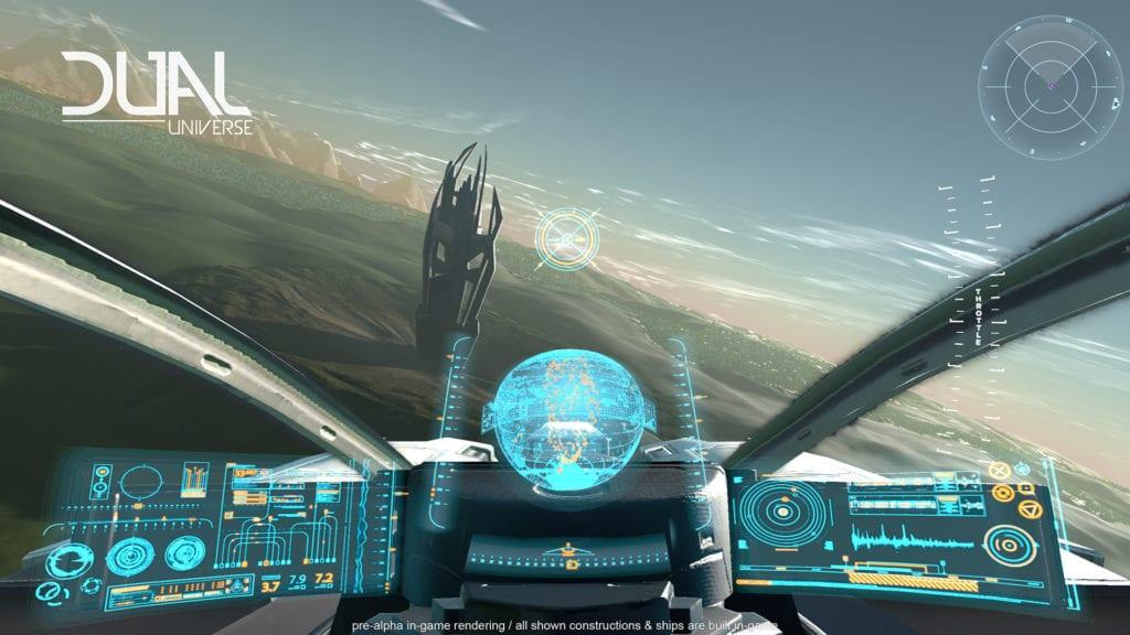Sandbox sci-fi MMO Dual Universe Announced - It's quite stuinning