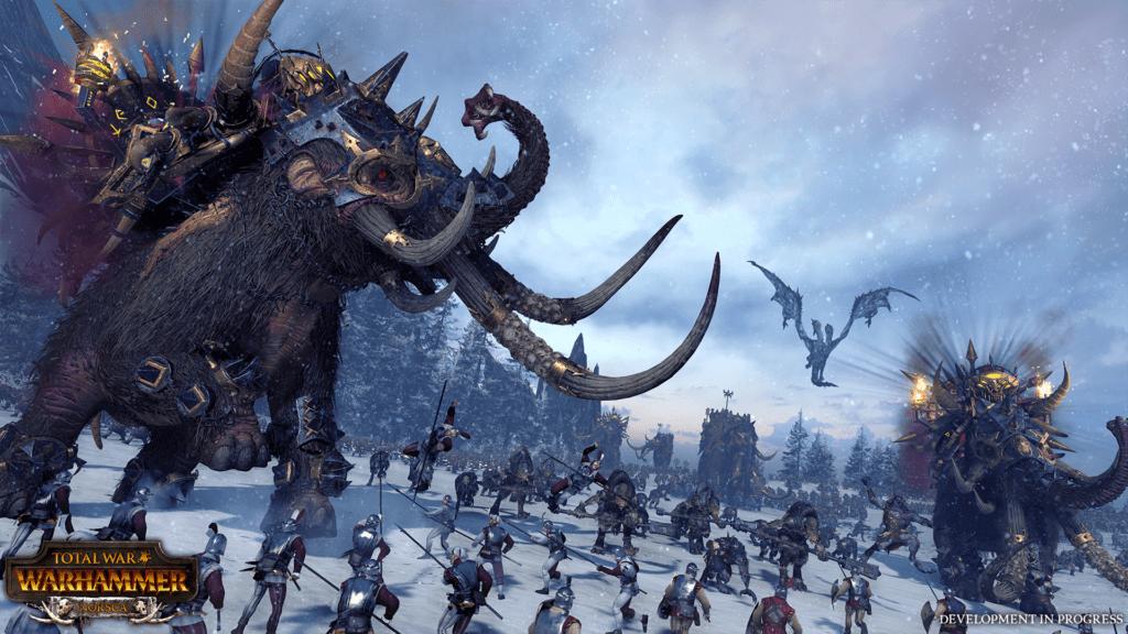 Total War Warhammer Norsca Faction Get A Mammoth Roster