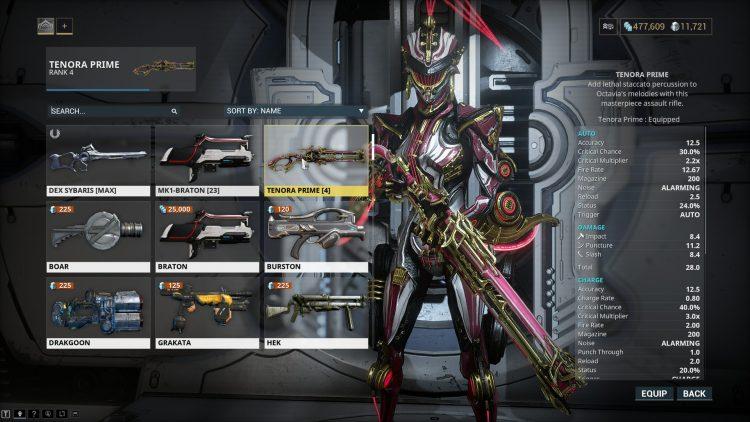 Warframe Octavia Prime 2