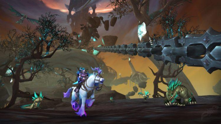 Las filtraciones de BlizzConline World of Warcraft revelan la actualización de Burning Crusade Classic y Chains of Domination (2)