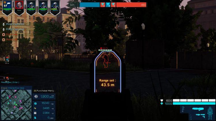 Eximius Seize The Frontline Launcher Secundario