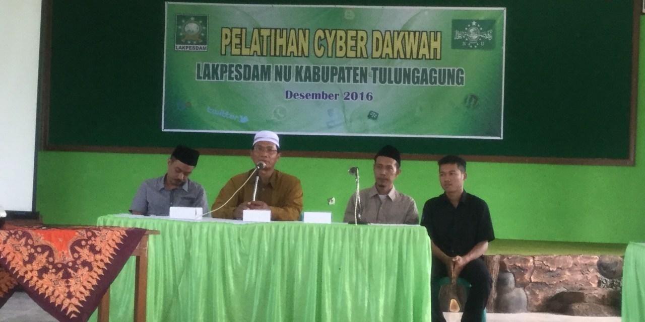 NU Tulungagung Siapkan Kader Militan untuk Cyber Dakwah