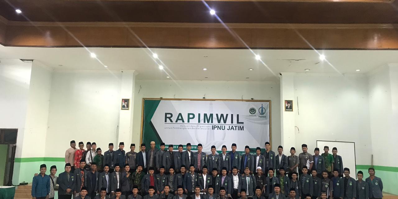 PC IPNU Tulungagagung hadiri RAPIMWIL