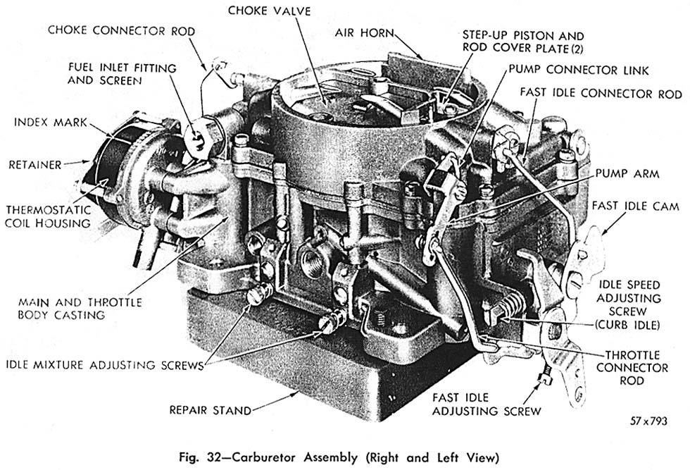 318 Engine Diagram 84 Dodge Carburetor Service Pci Rebuilders