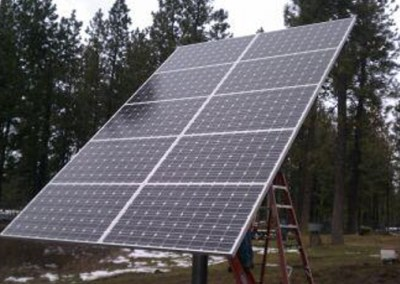 Cheney 2.4kW Pole Mount Photovoltaic System