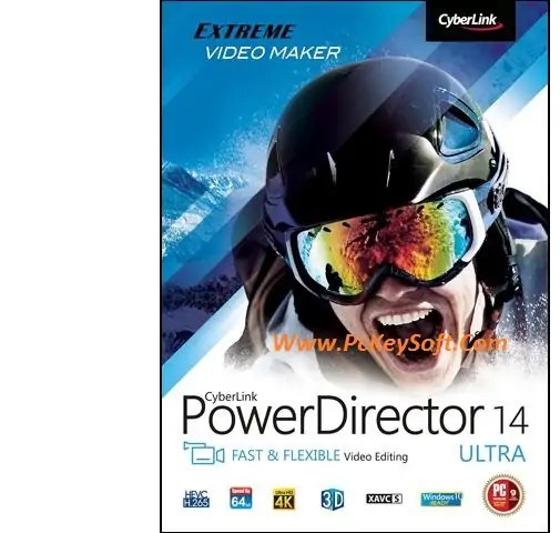 Cyberlink PowerDirector 14 Crack With Keygen Free Download 2017