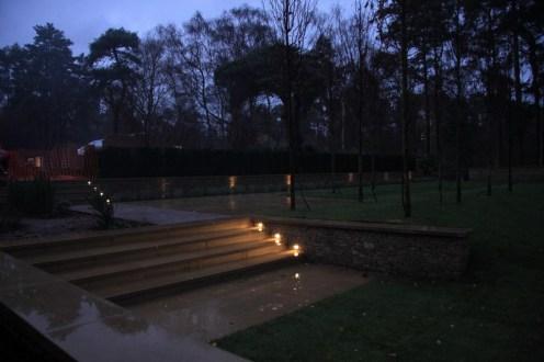 Step lights in Farnham