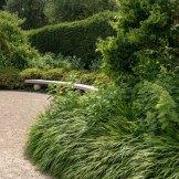 Green Contrasts and textures in Exbury Centenary Garden