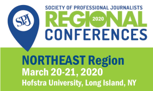 REGISTER TODAY: SPJ Region 1 Conference at Hofstra, March 20-21
