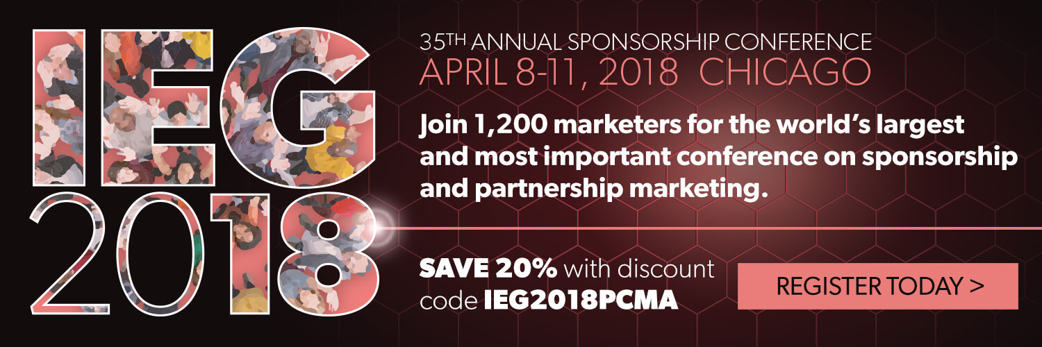 IEG 2018: 35th Annual Sponsorship Conference - Chicago. IL