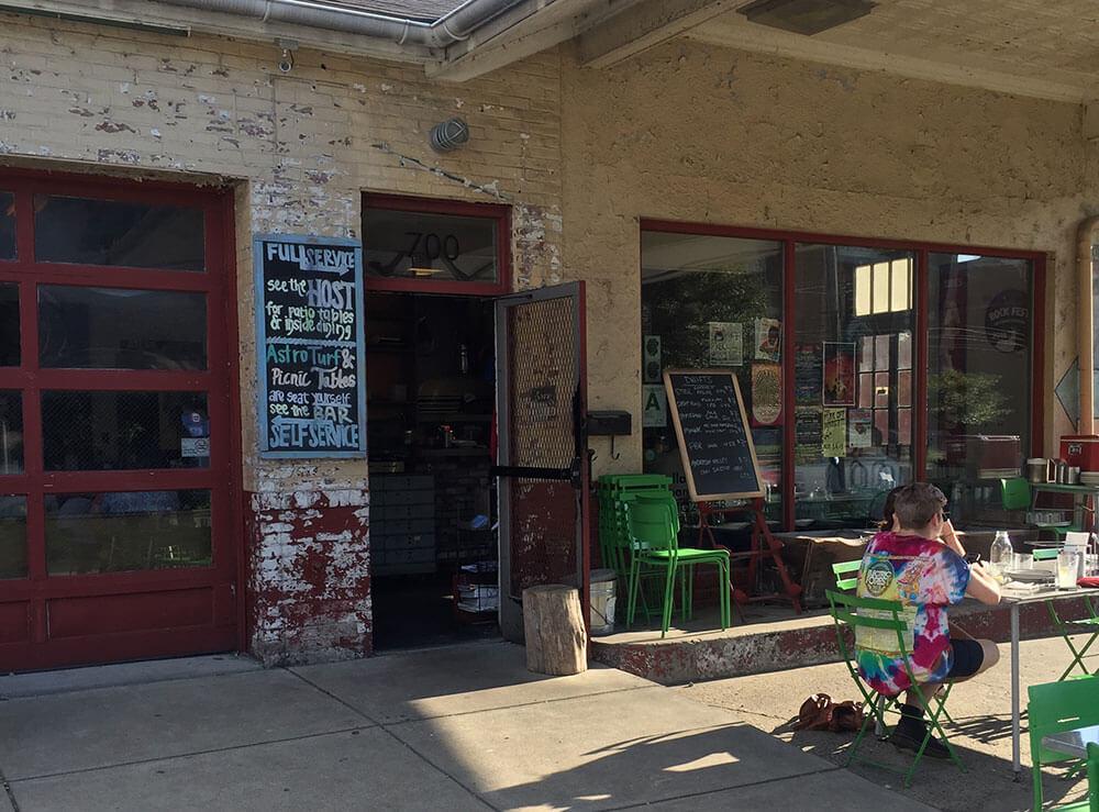 Garage Bar Restaurant In Louisville S East Market District A Fun Hangout