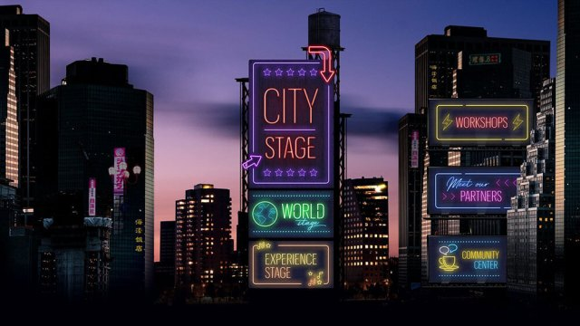 WRLDCTY Stages