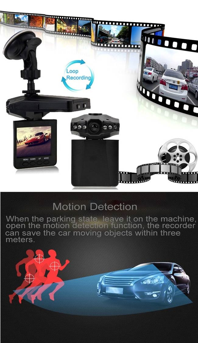 car dashboard security dash camera dvr cctv with night vision recorder pcmacs. Black Bedroom Furniture Sets. Home Design Ideas