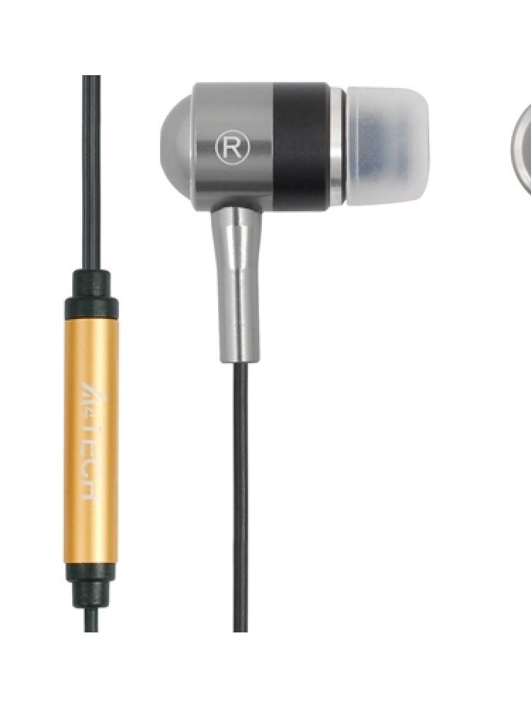 Casti A4TECH   Metalice  Design In-Ear, Black, 'MK-650-B'  EAN4711421727778