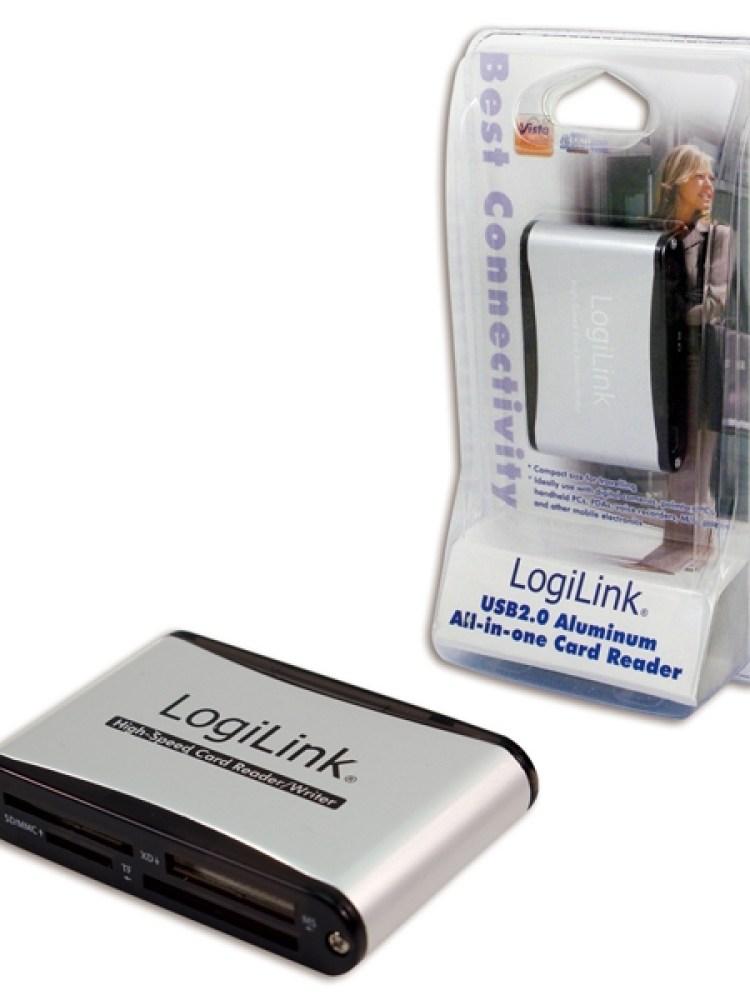 Card Reader USB 2.0. 56-in-one, Logilink 'CR0001B'