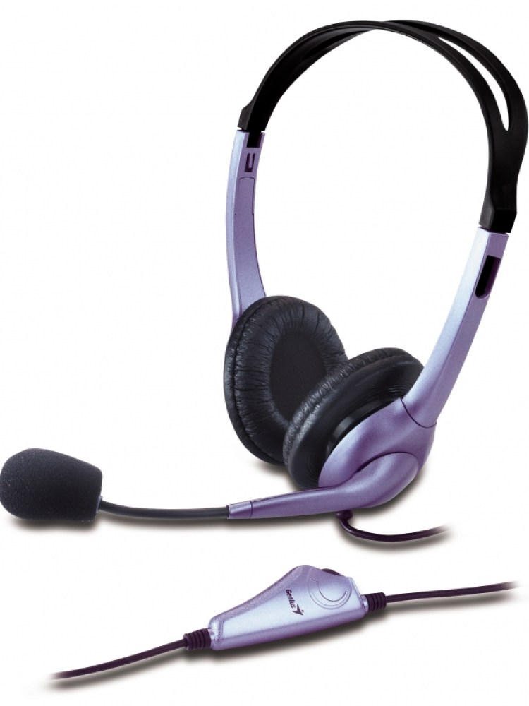 Casti GENIUS  'HS-04S' + microfon noise cancelling '31710025100' (include timbru verde 0.01 lei)