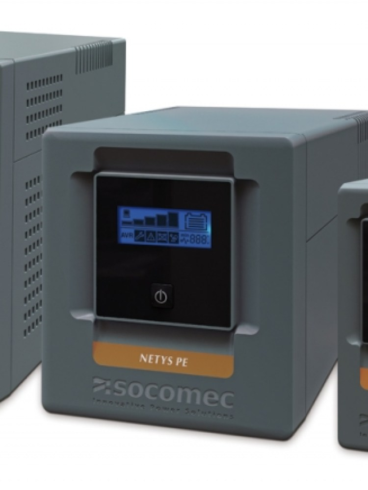UPS SOCOMEC Netys PE-LCD 1000VA  USB   (include timbru verde 3 lei)