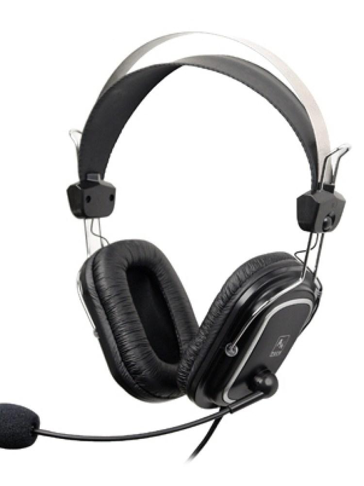 Casti A4TECH  Stereo, microfon pe casca, control volum pe fir, 'HS- 50' EAN 4711421698658