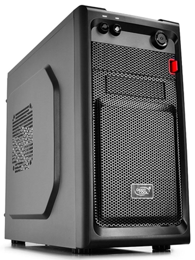 CARCASA DEEPCOOL  mATX Mini-Tower,  front audio & 1x USB 3.0, 1x USB 2.0, black 'SMARTER'