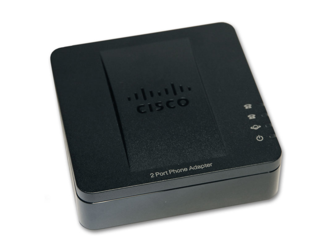 Cisco SPA112 2 Port Analogue Gateway Phone Adapter (ATA) for VOIP | eBay