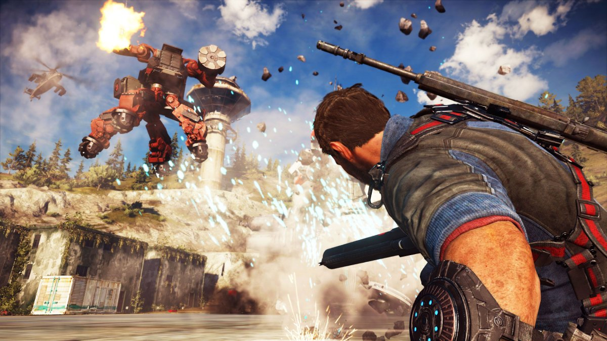 just cause 3 dlc MECH LAN ASSAULT 2