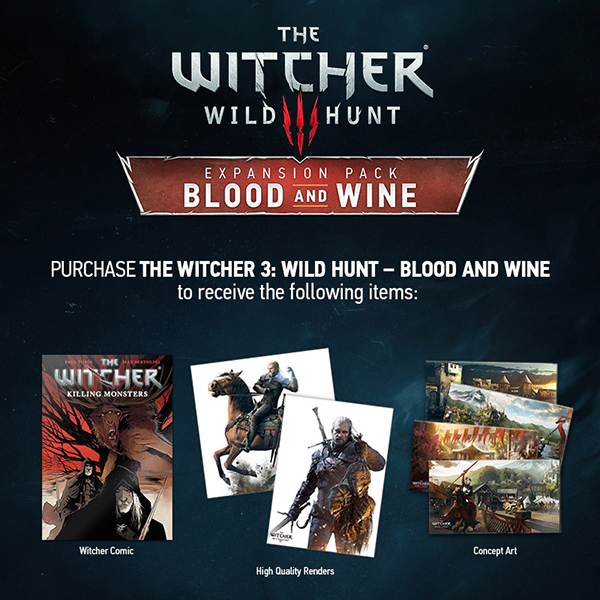 witcher 3 blood wine