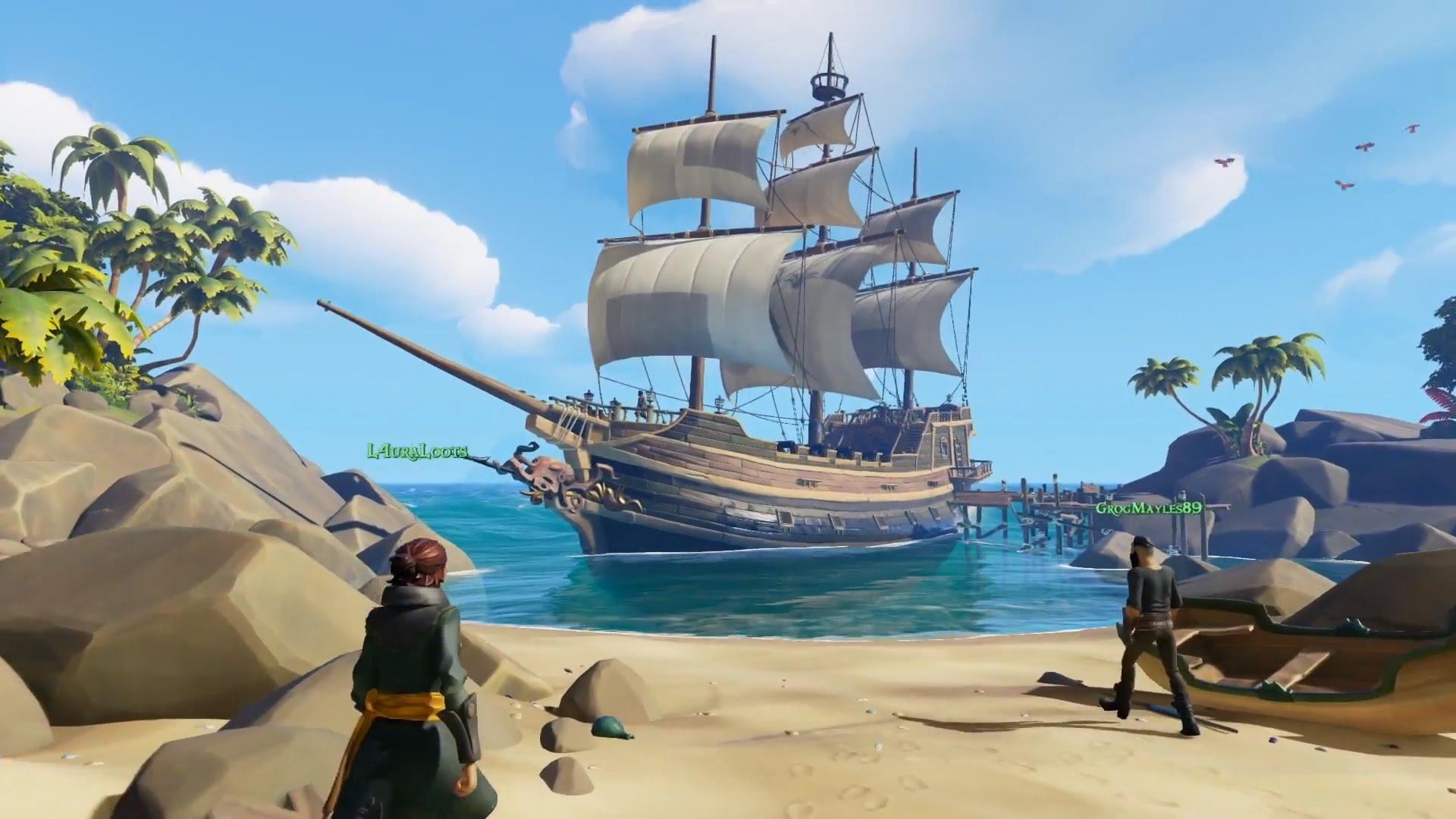 gameplay de Sea of Thieves