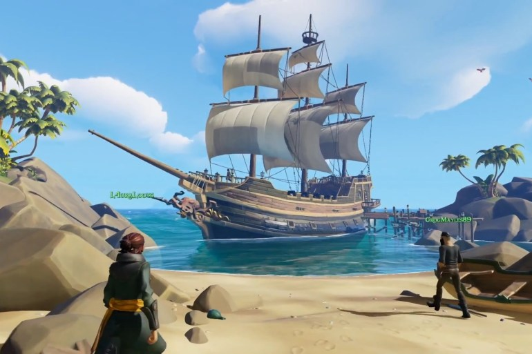gameplay de Sea of Thieves